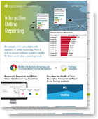 thumbnail of interactive online reporting flyer available for download