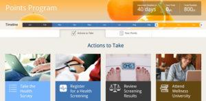 Health wellness program incentives